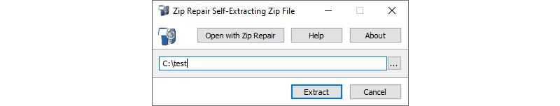 Image of Example Self Extracting Zip